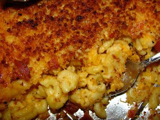 For the Love of Food: Crunchy Bacon Macaroni and Cheese