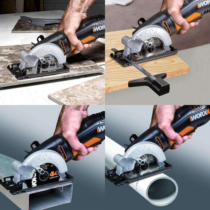 Compact Circular Saw Tool Worxsaw Wx423 85mm 400w Blade Single Speed Best Tools Worx Custom Compact Circular Saw Saw Tool Circular Saw
