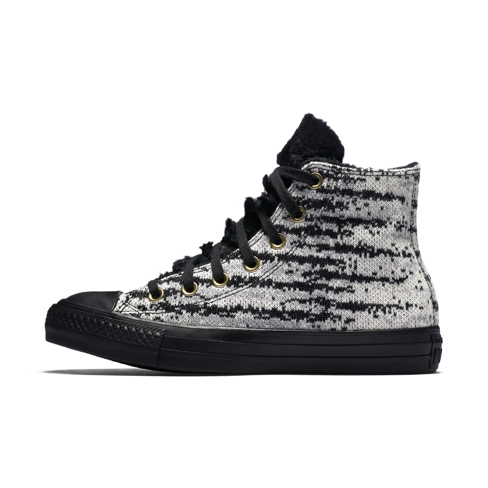 Converse Chuck Taylor All Star Winter Knit and Faux Fur High Top Women s  Shoe Size 9.5 (Grey) - Clearance Sale fc7f03ef7