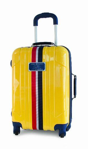 4e25fc568 Tommy Hilfiger Luggage Lochwood 28 Inch Hardside Spinner, Yellow, One Size  for sale