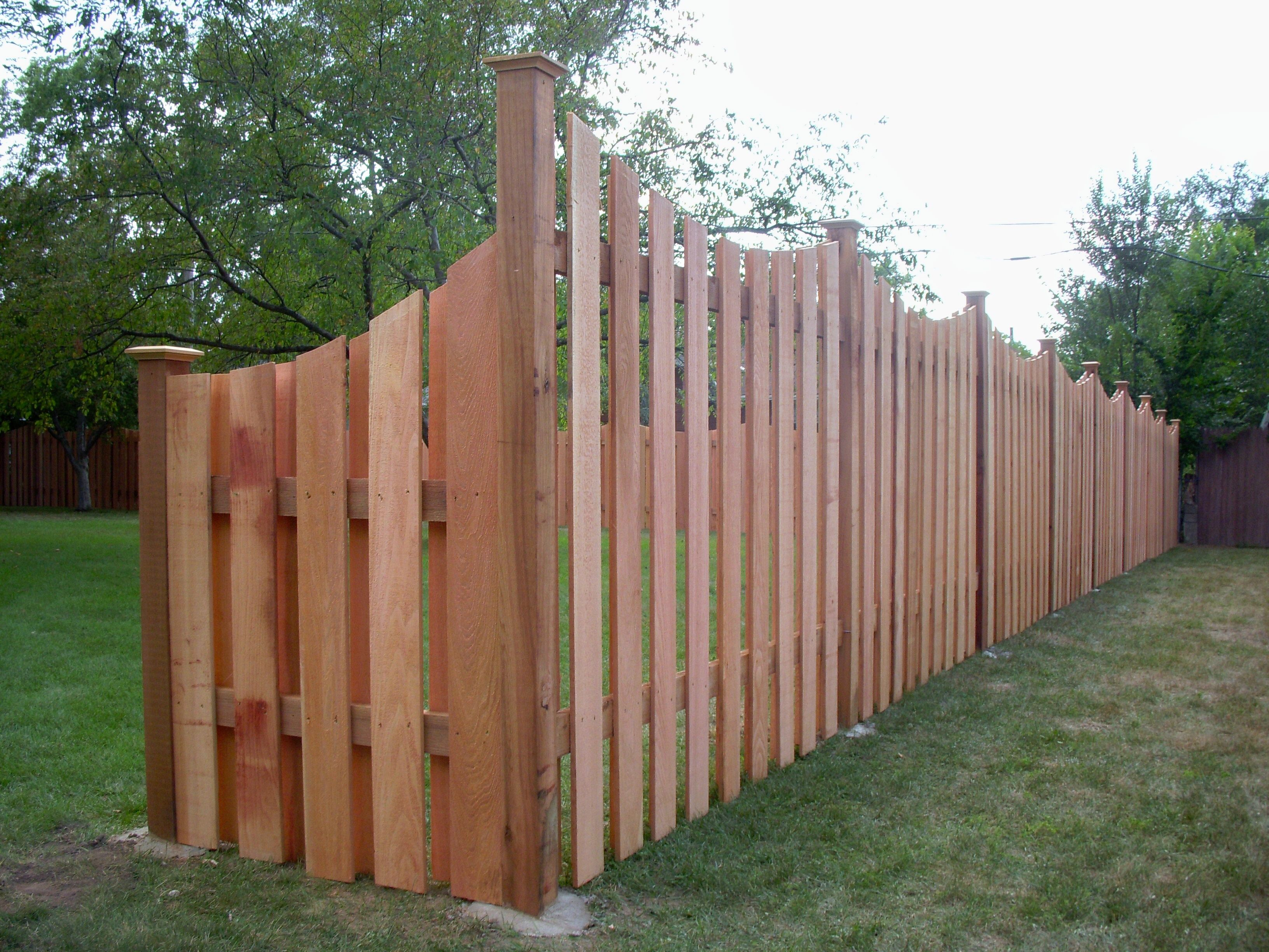 Transitioning 6ft privacy fence to 4ft privacy fence for 4 foot fence ideas