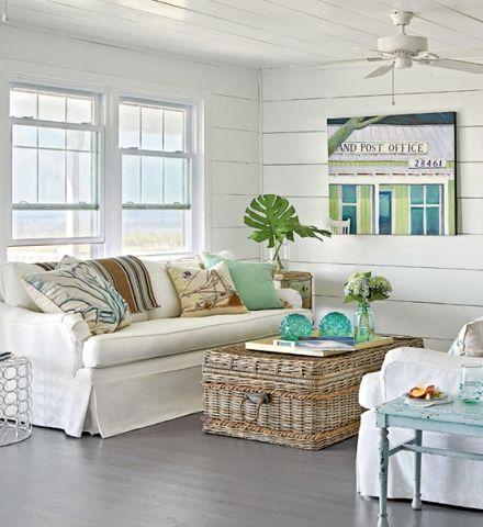 Classic Coastal Cottage Decorating Strandhauser Einrichtung