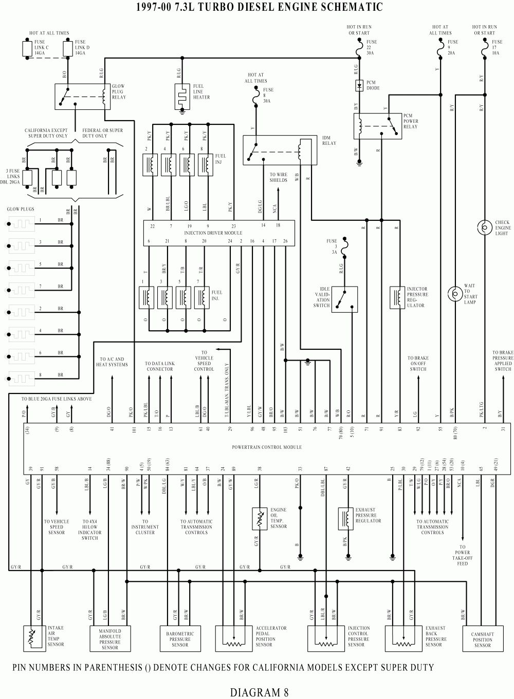 ford f250 wiring diagram fixya throughout ford f250 wiring diagram [ 1000 x 1361 Pixel ]