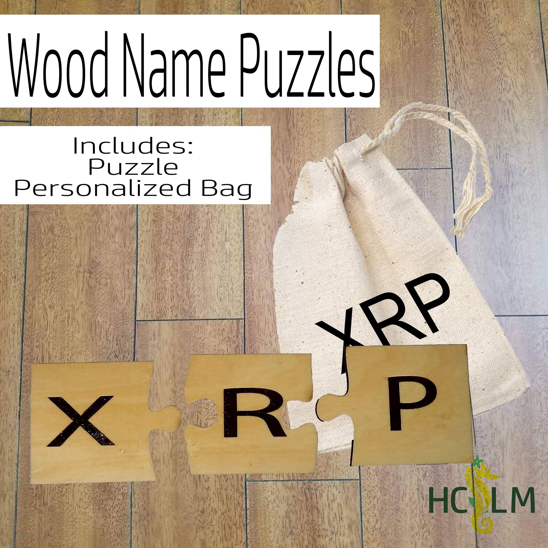 Wooden Personalize Puzzle Personalize Puzzle Name Puzzle