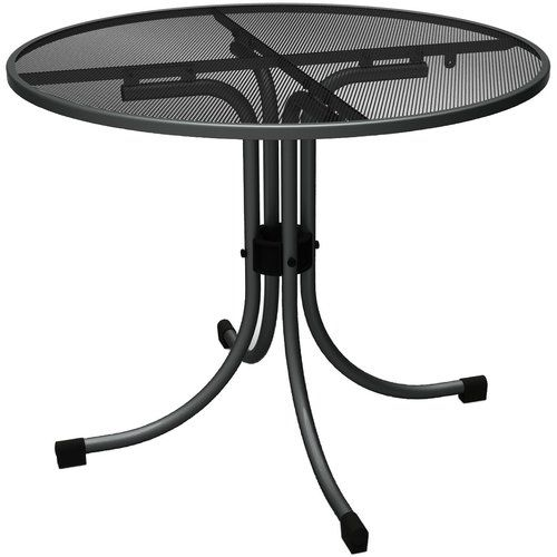Coble Bistro Table Lynton Garden Metalltische Metall Esstisch