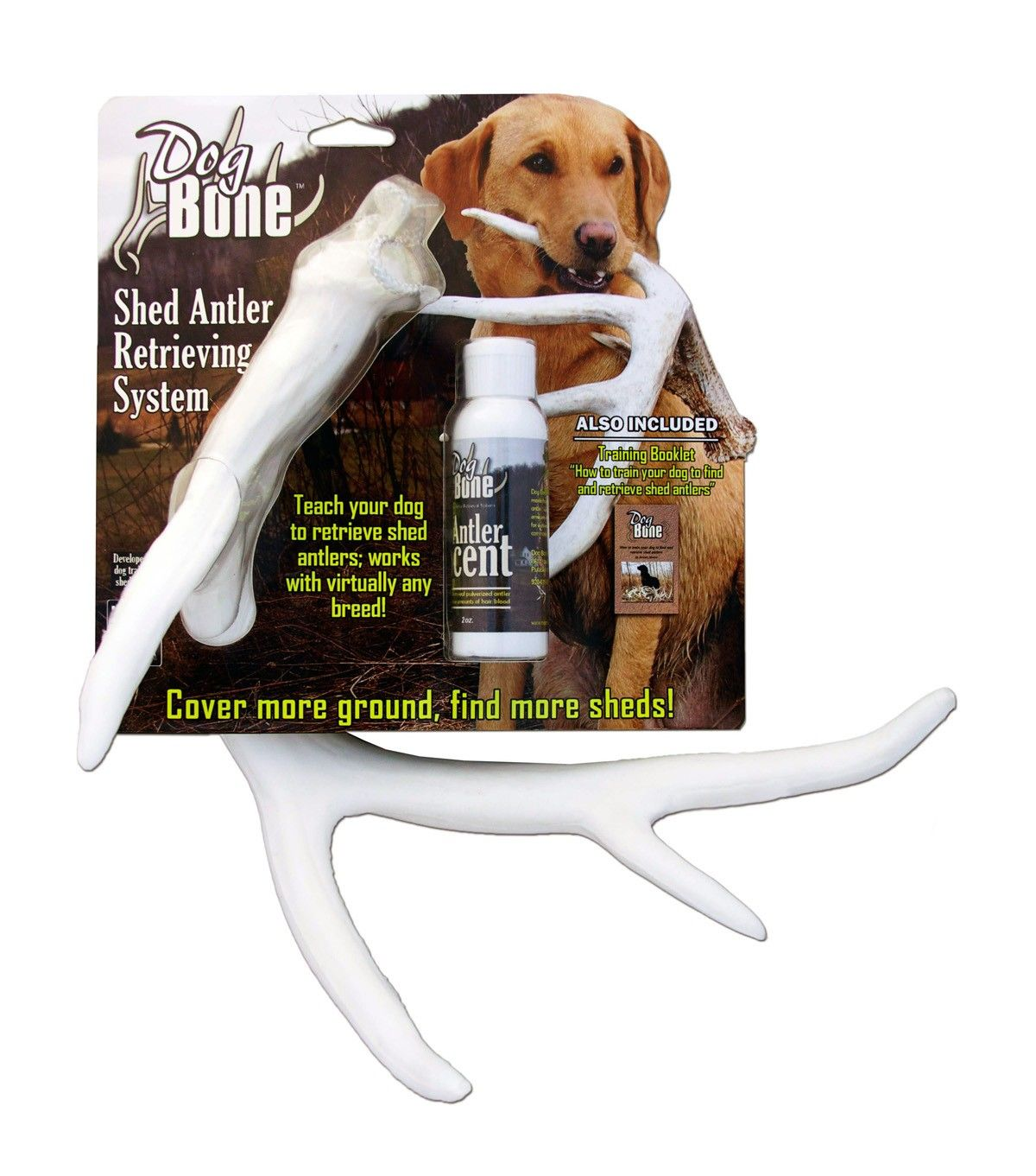 Dogbone Shed Antler Dog Retreiving Kit By Moore Outdoor Products