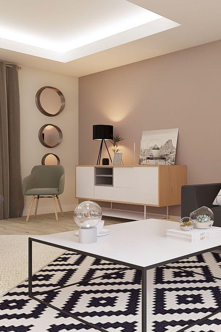 Projet 3D - Salon style design #peinturesalontendance