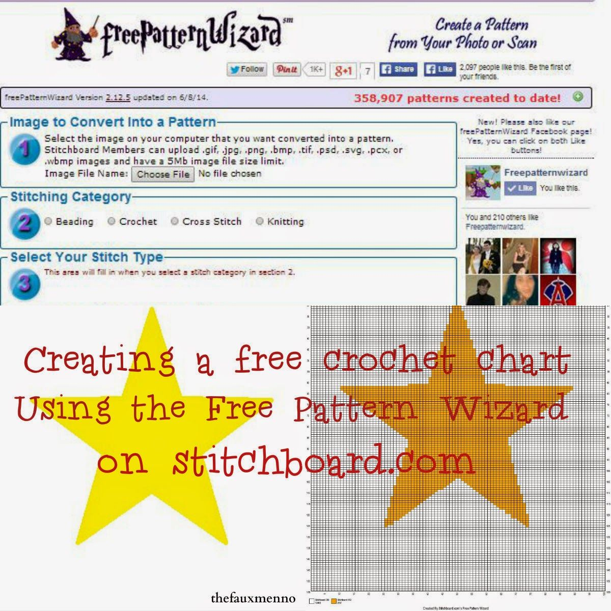 How to use the Free Pattern Wizard from stitchboard.com to create a ...