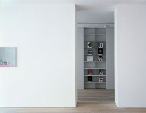 stuart shave modern art | shelving ~ david kohn architects