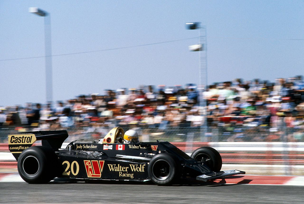 Jody Scheckter, WolfFord WR5, 1978 French GP, Le Castellet