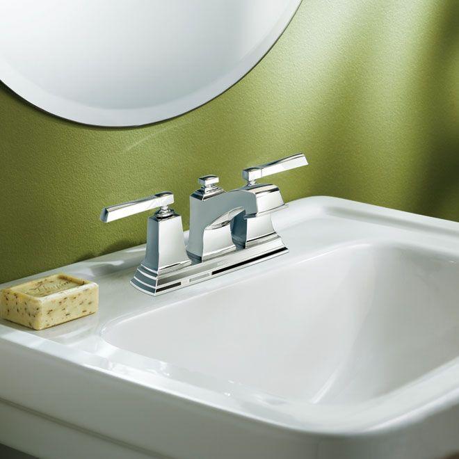 Rona 120 Moen Boardwalk 2 Handle Lavatory Faucet