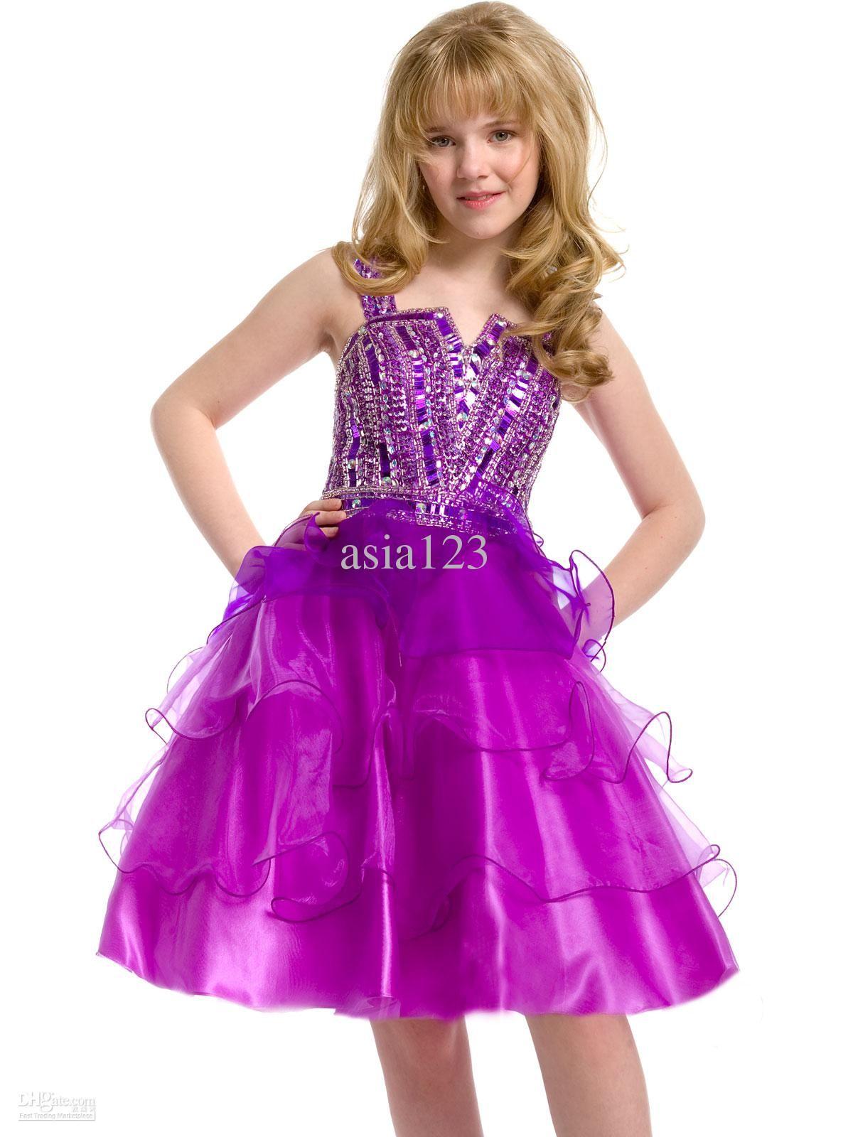 Short Organza Junior Party Dress | Party Dresses | Pinterest ...