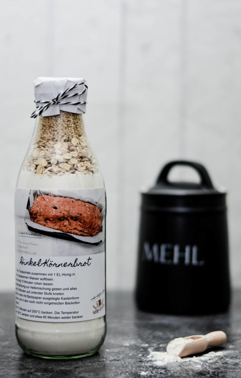 Photo of 6 special bread baking mixes to give away – butter-brot.de