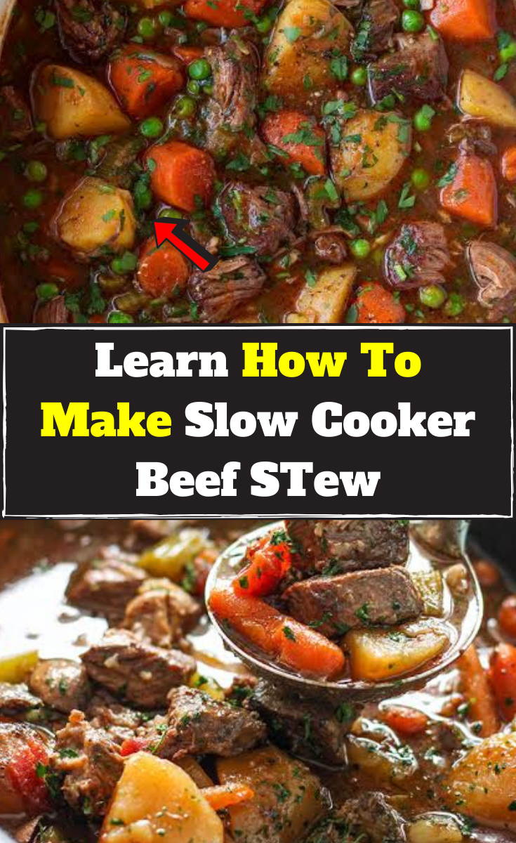 Add Vegetables And Beef Chuck Cubes To A Slow Cooker Hours Later Enjoy A Hearty Stew Slow Cooker Beef Stew Slow Cooker Beef Beef