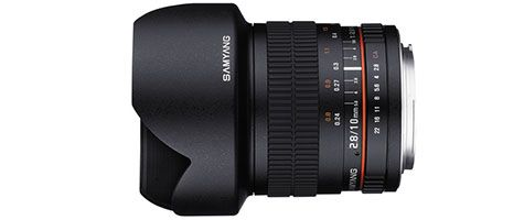 Samyang Announces 10mm F 2 8 Ed As Ncs Cs Lens Lens Photography Products 10mm