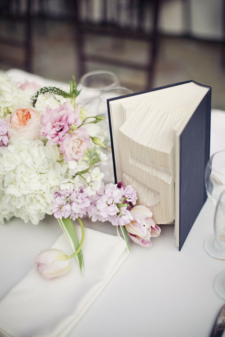 Wedding Decor Inspiration: Antique Book Centerpieces | Pinterest ...