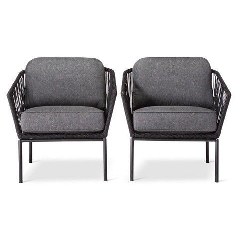 Standish 2 Piece Patio Club Chair   Threshold™