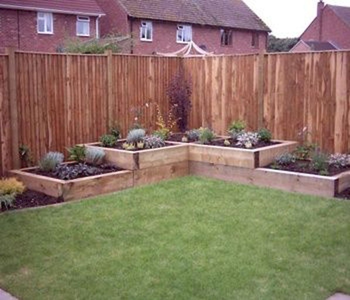 40 beautiful backyard landscaping ideas on a budget for Garden designs with raised beds