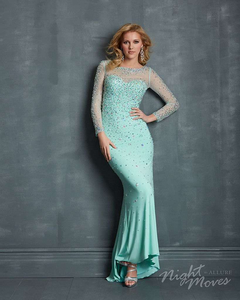 Frozen inspired prom dress #frozen - Night Moves 7090 | Dresses ...