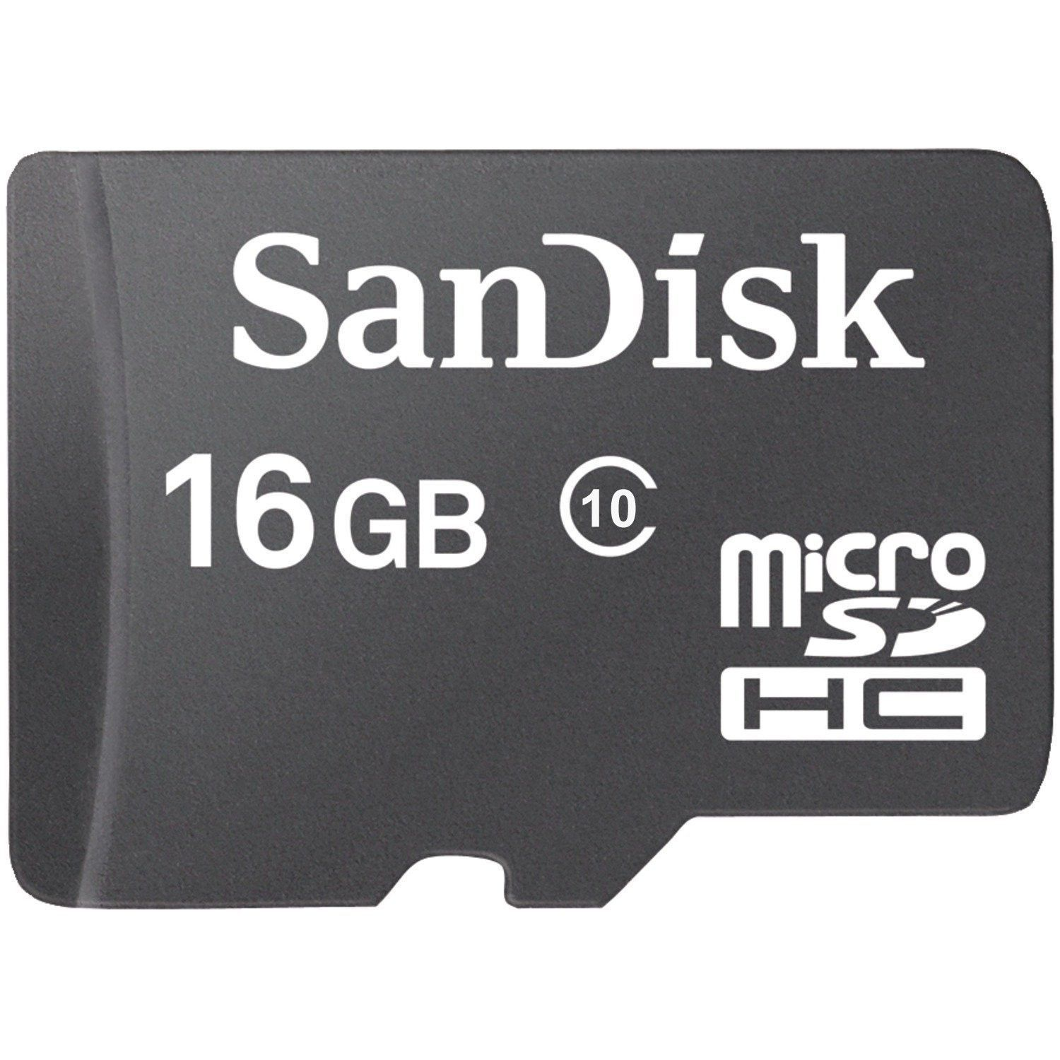 Sandisk 16gb Memory Card Class 10 Ultra Micro Sd Sdhc Speed 80mb S Uhs 1 16 Gb