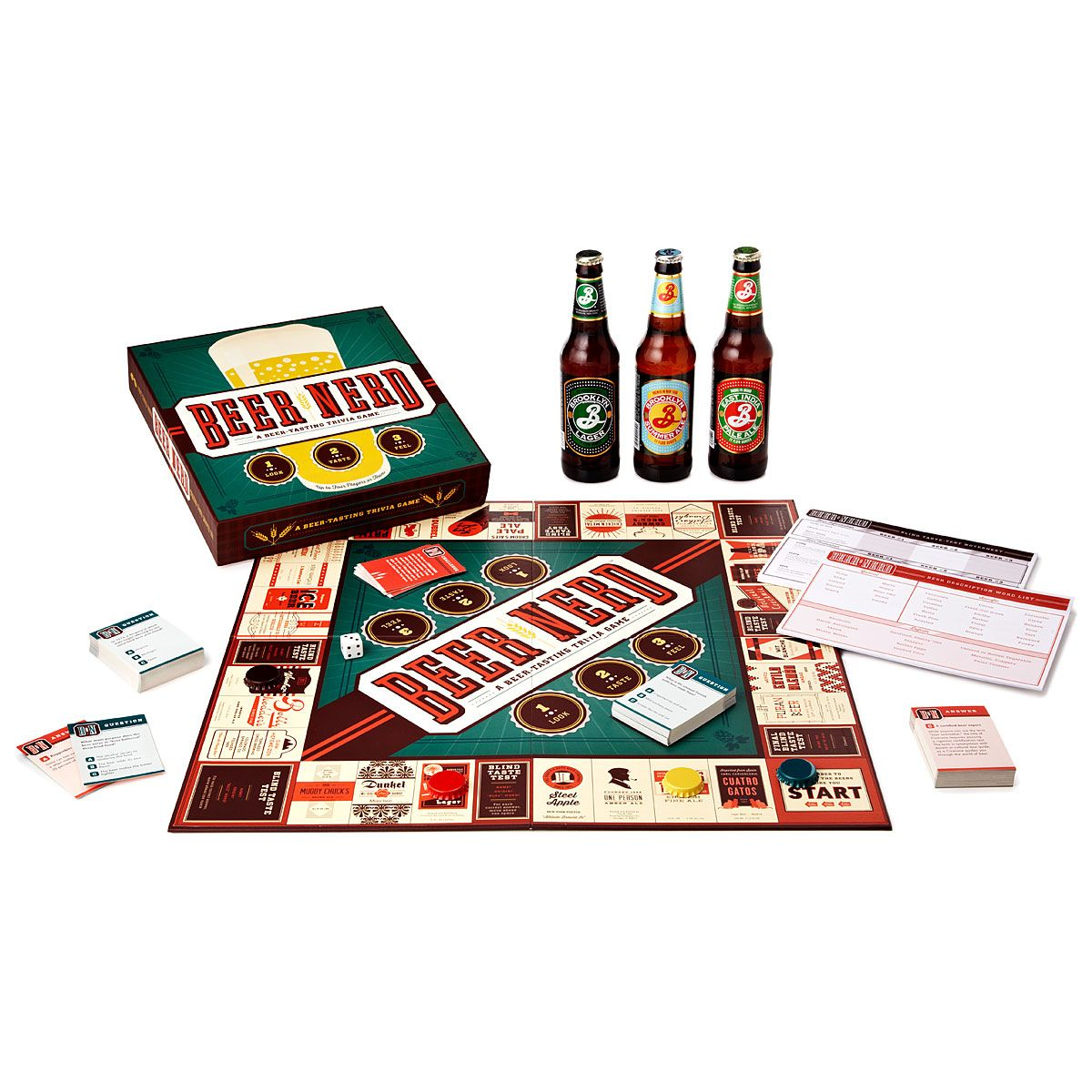 Wedding Gifts For Nerds: Beer Tasting Game