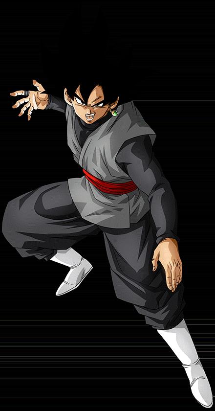 Goku Black Render 5 Dokkan Battle By Maxiuchiha22 Dragon Ball Super Manga Anime Dragon Ball Super Goku Black