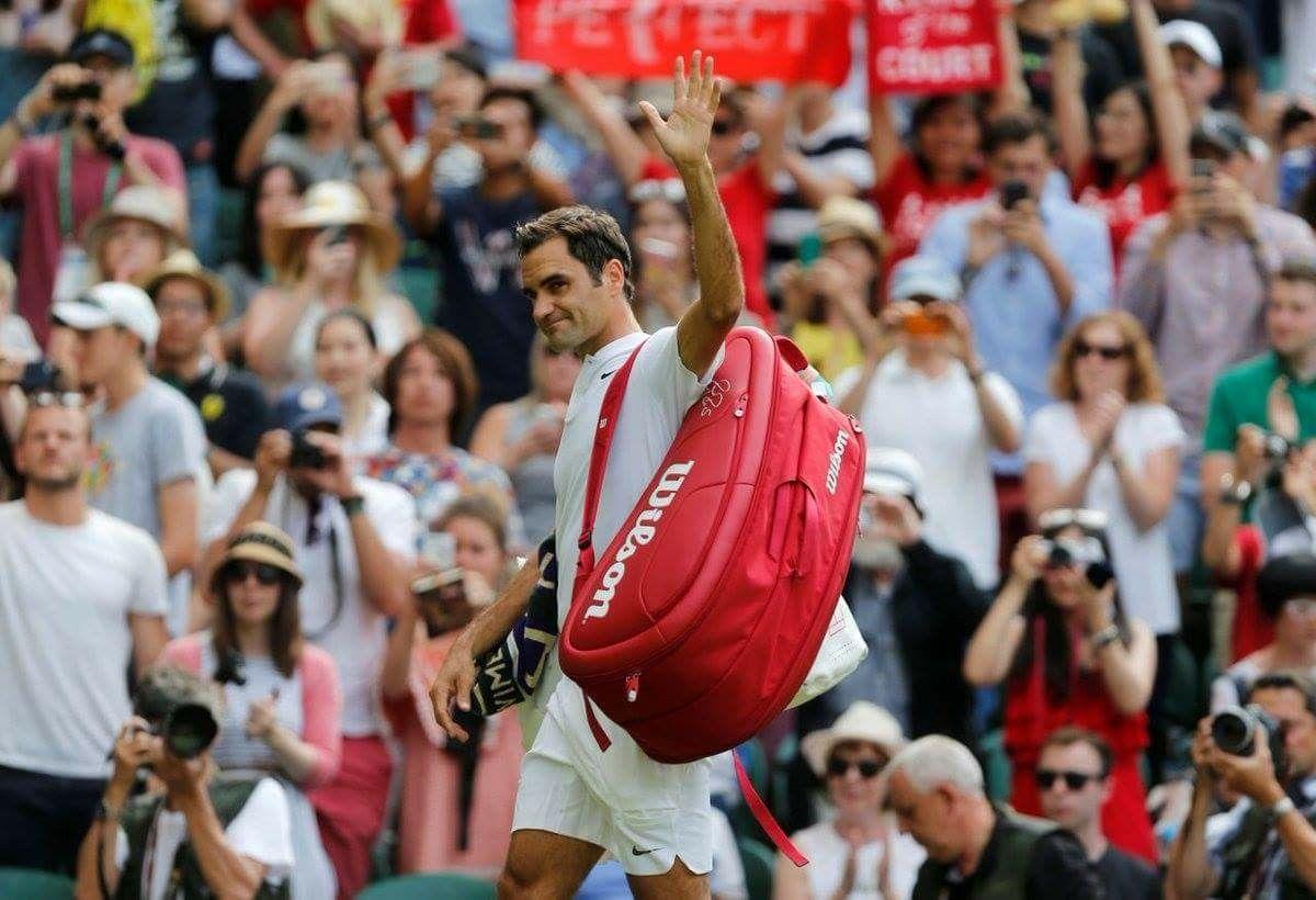 1st round play WIN Wimbledon Roger federer, Wimbledon