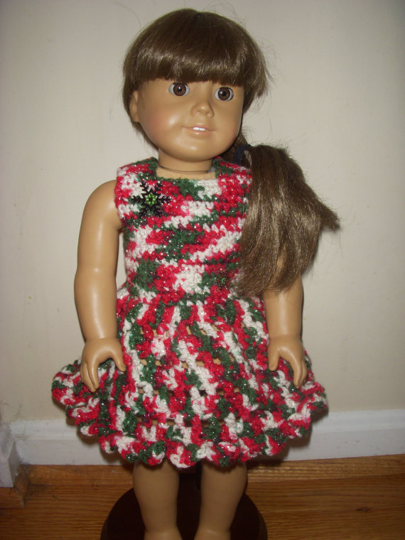 Only 2 American Girl Doll Dress Crochet Pattern Pdf By