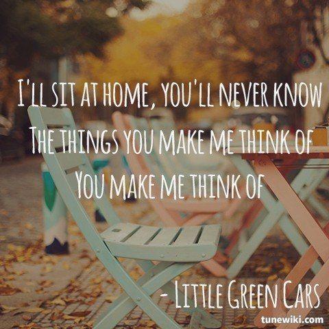 The Kitchen Floor - Little Green Cars #lyrics | Food for the Heart ...