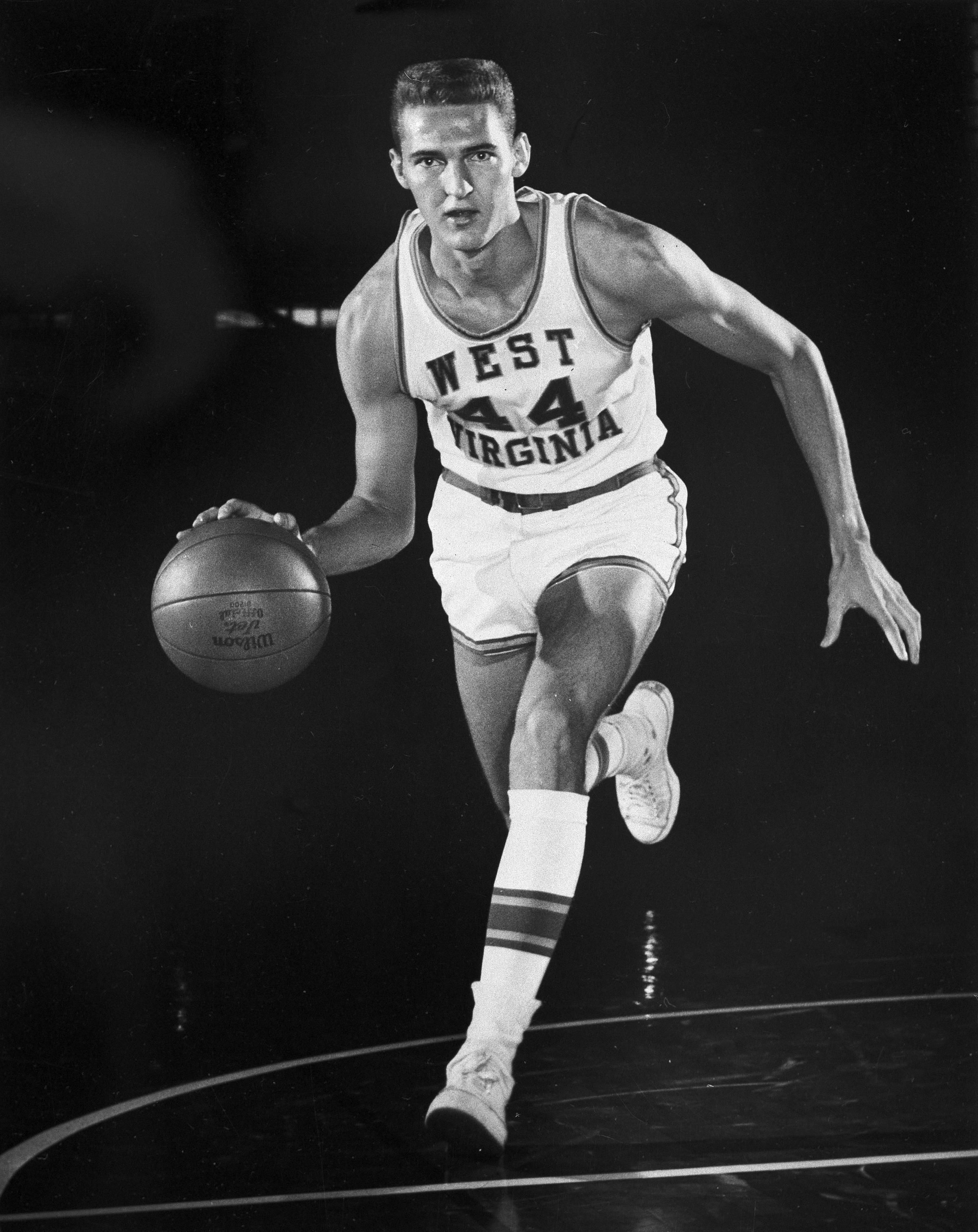 1960 Jerry West West Virginia Jerry west, Ncaa basketball