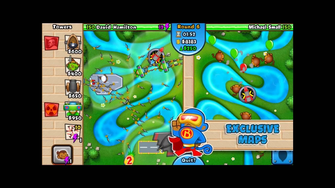 Bloons Tower Defense Hacked Unblocked | Bloons TD Battles Pc | Tower