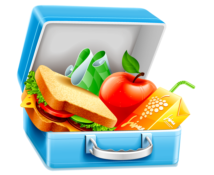 Image result for packed lunch clipart