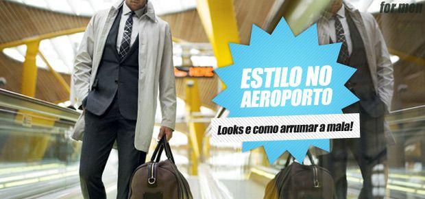 Na hora de viajar, o look para o aeroporto as vezes pode dar mais trabalho do que arrumar a própria mala.Tem que ser confortável e ao mesmo tempo estiloso (você deve se importar com isso se está lendo essa coluna, certo? hehe), principalmente se rolar algum compromisso/passeio pra ir direto do aeroporto.Se com você fica …