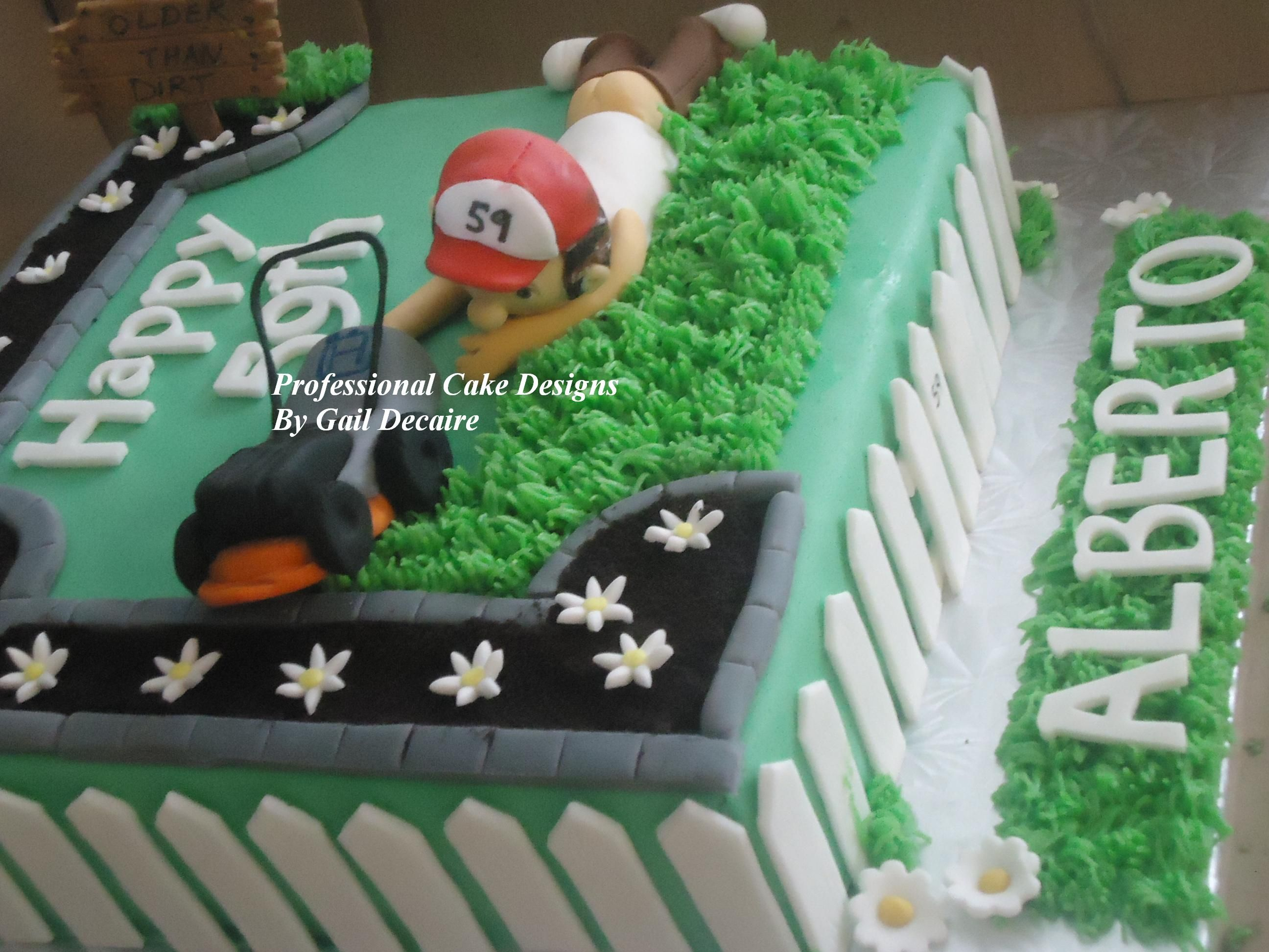 Landscaping Cake Gail Decaire Professional Cake Designs Like Share Or Follow Me On Facebook