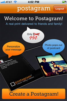 Instantly print and ship photos from Instagram, Facebook or