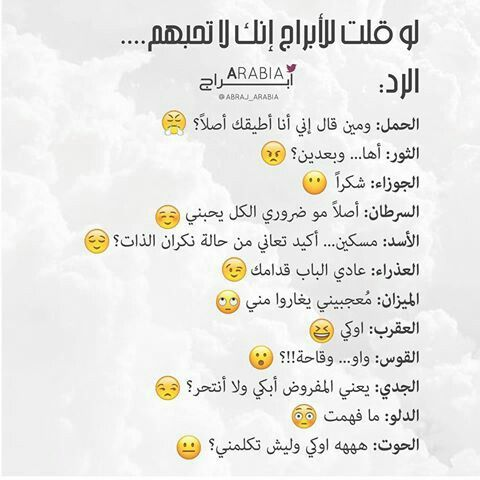 Zodiac signs : Arabic English transcriptions