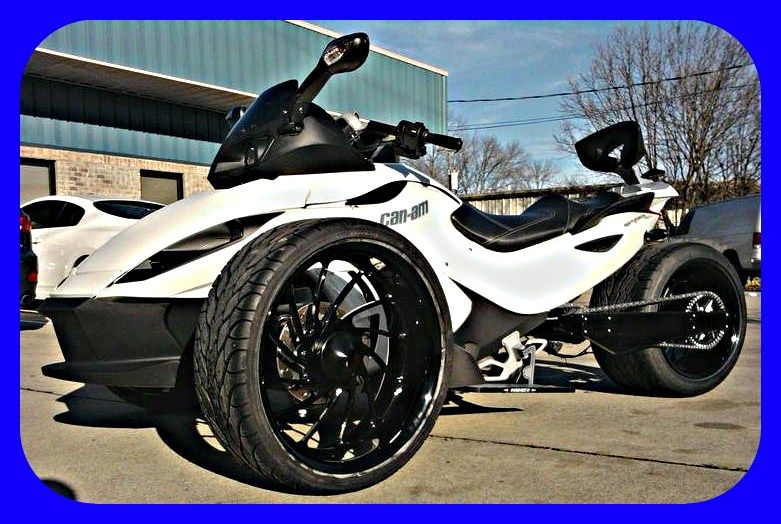 Can am spyder rides pinterest cars vehicle and wheels