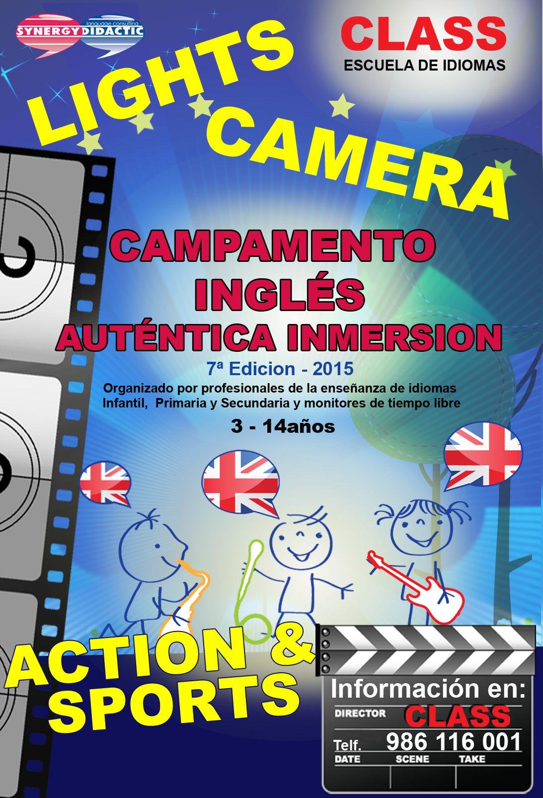 Campamento Inglés para niños y jovenes en Vigo