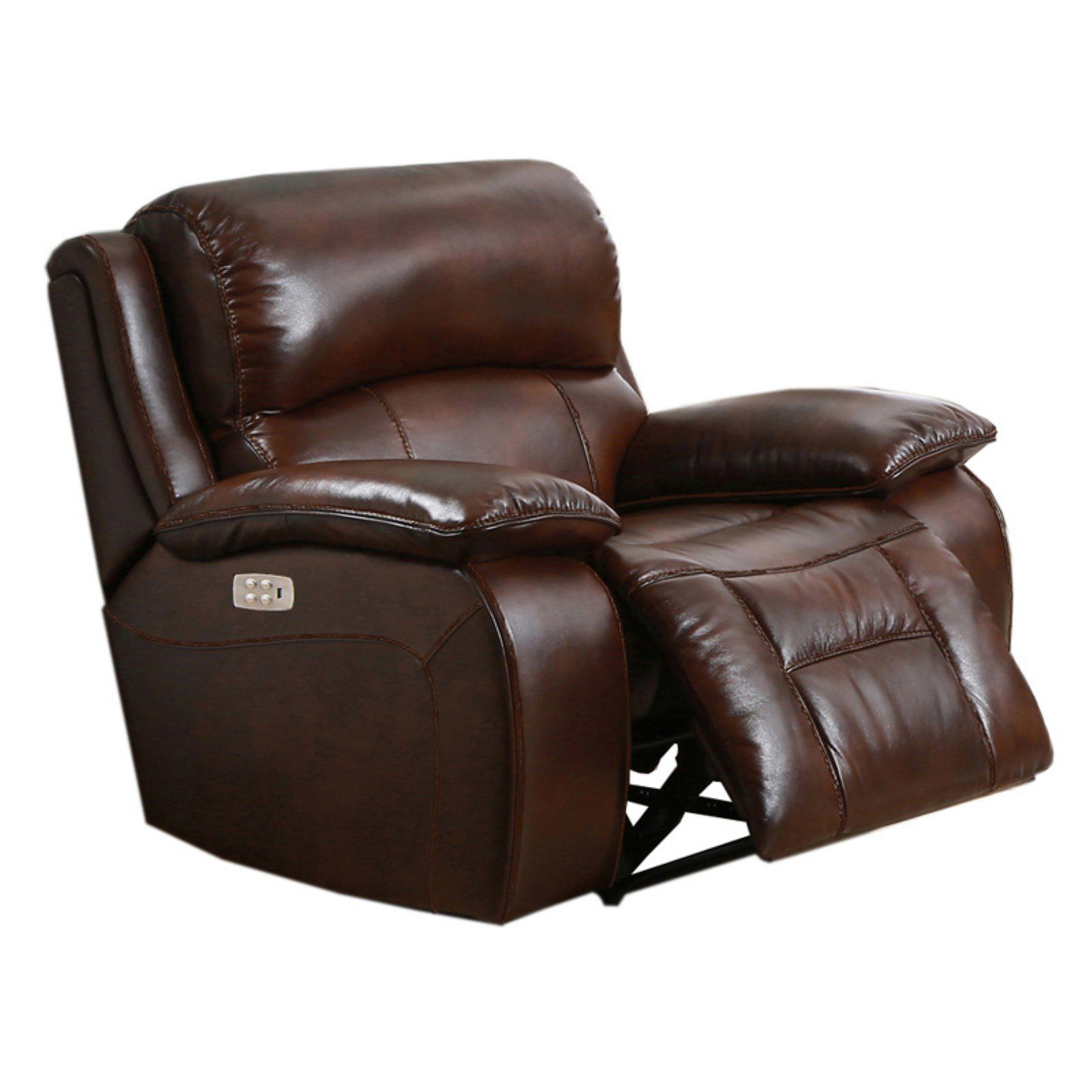 - Amax Leather Westminster II Top Grain Leather Power Recliner