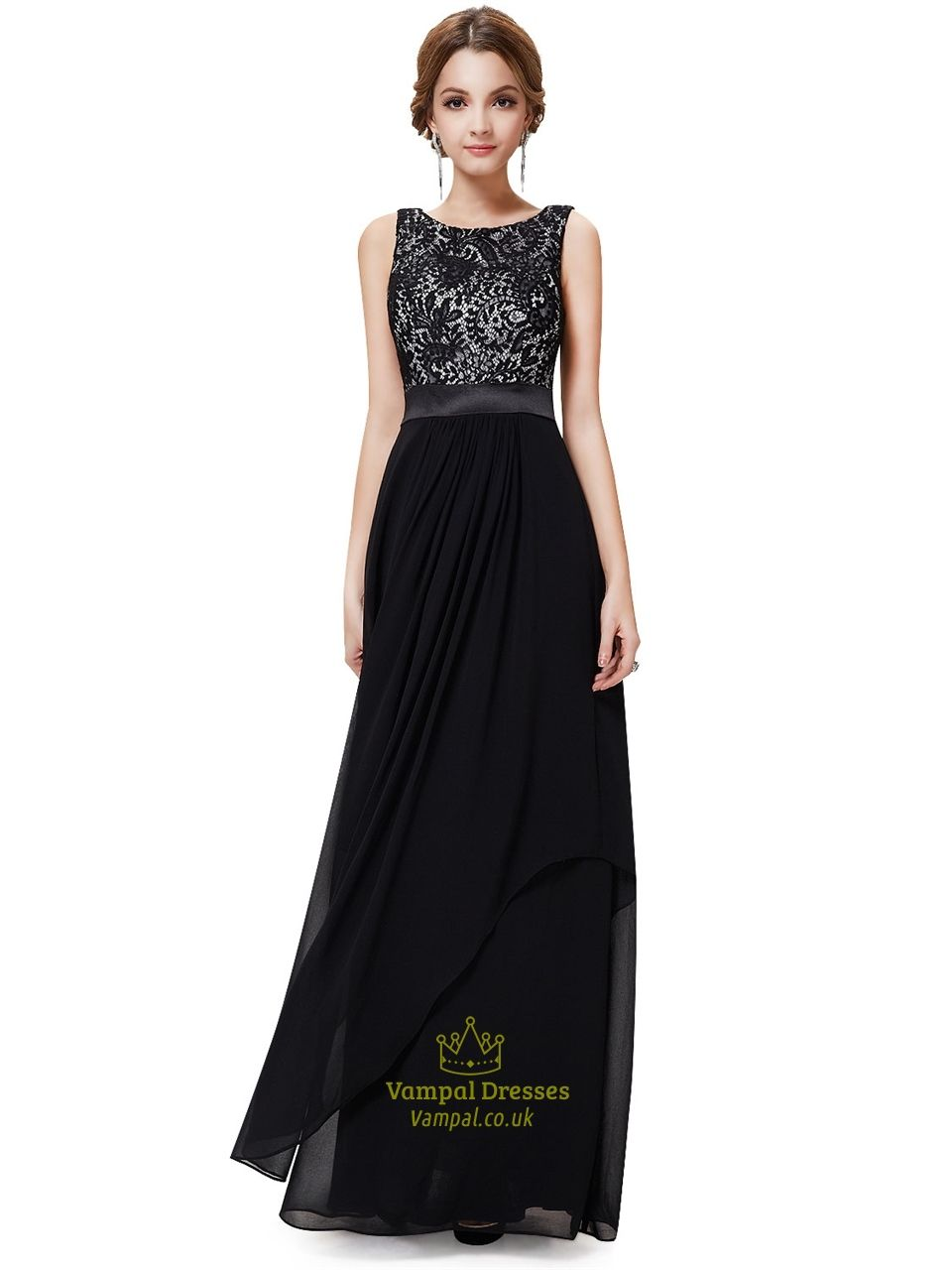 Black and white party dresses uk online