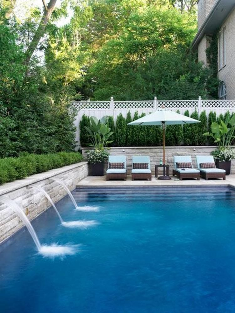 40 The Best Small Swimming Pool Ideas For Your Backyard Taman Kaca Spas Jacuzzi