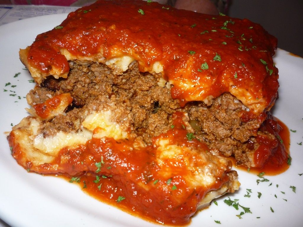 Moussaka from the Patriot Diner in Woonsocket, R.I.: http://visitingnewengland.com/blog-cheap-travel/?p=2605