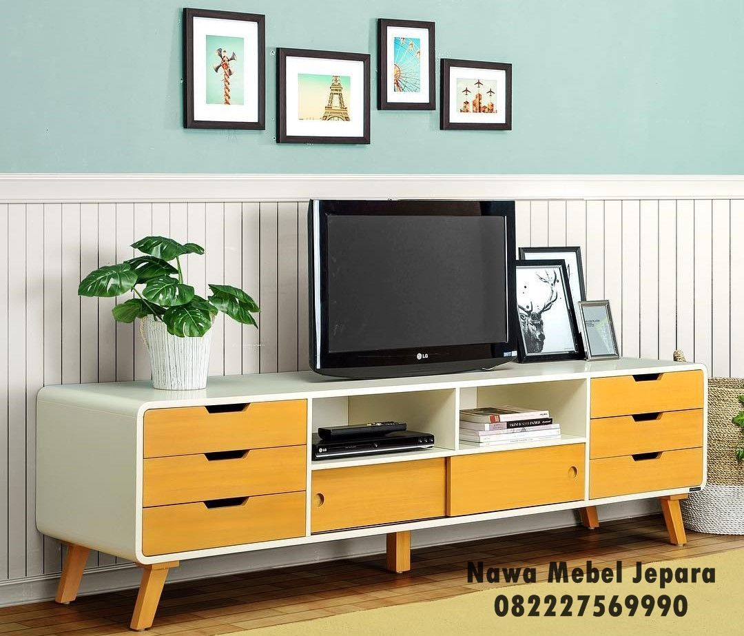 Meja Tv Minimalis Rak Tv Minimalis Mebel Jepara Furniture  # Meuble Tv Ware