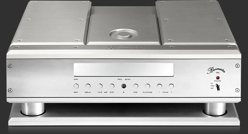 burmester 069 belt drive cd player built to the highest. Black Bedroom Furniture Sets. Home Design Ideas