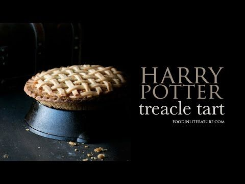 With Only 3 Ingredients For The Filling It S Super Easy And Quick To Make This Favorite Harry Potter Recipe Tre Treacle Tart Harry Potter Food My Best Recipe