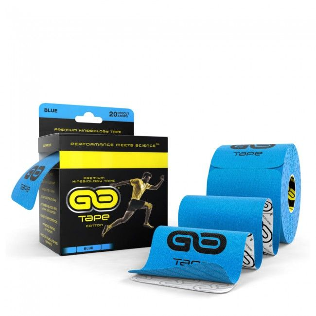 GO Tape - 20 Precut Strips - Blue