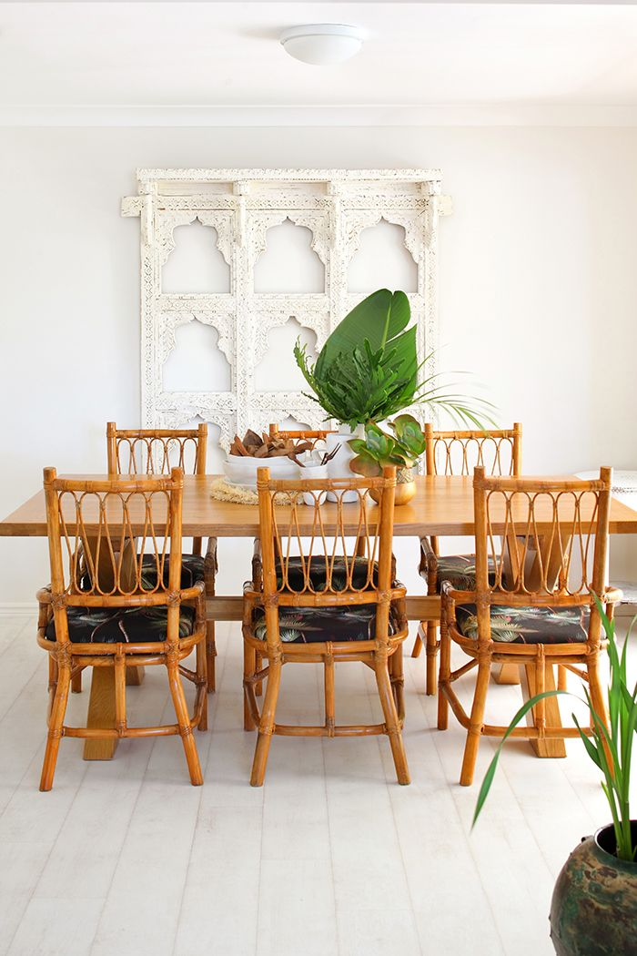 bohemian bliss is what this gold coast home is all about house home magazine home decor on boho chic dining room kitchen dining tables id=88677