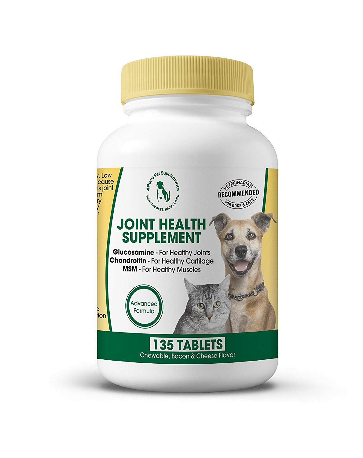 Best Glucosamine Chondroitin MSM for Dogs and Cats. All