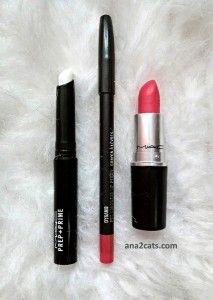 MAC P+P Lip, Dynamo Pro Longwear Lip Pencil and MAC