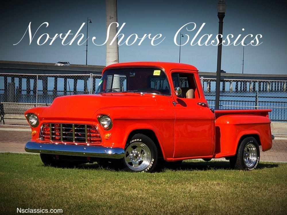 Used 1957 Chevrolet 3100 -HUGGER ORANGE- PICKUP- CUSTOM BED ...